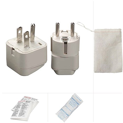 Going In Style Korea (North and South) Grounded Adapter Plug Kit - GUA and - Outlets South