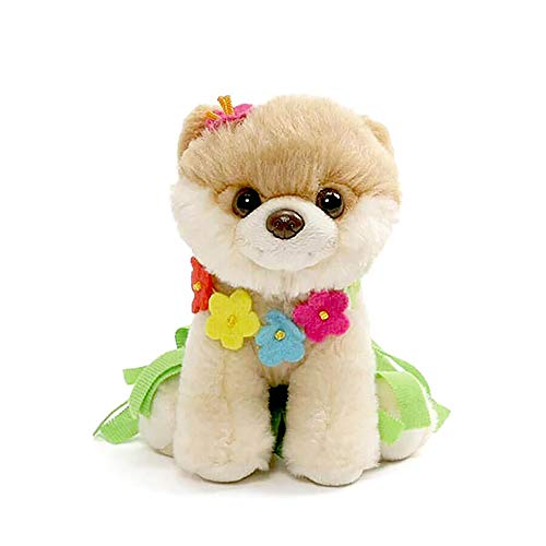 GUND Itty Bitty Boo Hula Plush Stuffed Dog, 5
