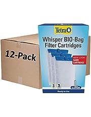Tetra Whisper Bio-Bag Filter Cartridges for Aquariums - Ready to Use