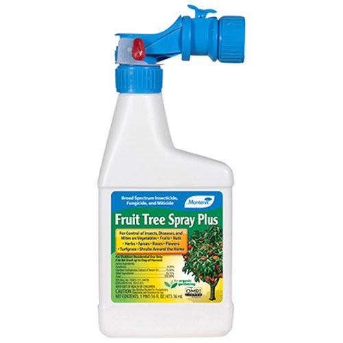 Monterey Lawn and Garden LG6186 Fruit Tree Spray Plus, 16-Ounce