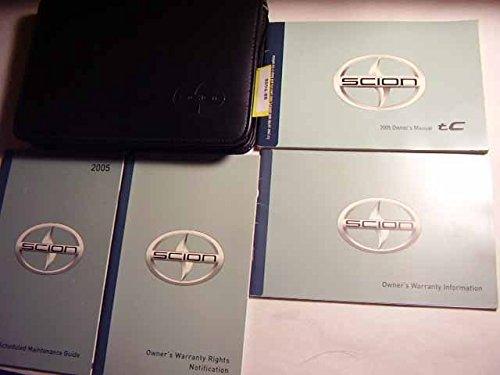 2005 Scion TC Owners Manual (Manual Tc Scion)