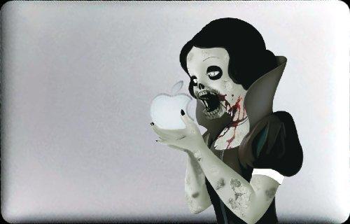 Amazoncom Zombie Princess Decal For  Macbook Air Vinyl - Macbook air decals