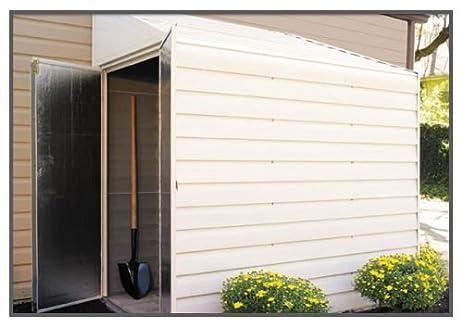 Nice Yardsaver 4x7 Storage Shed   Eggshell And Pent Gable