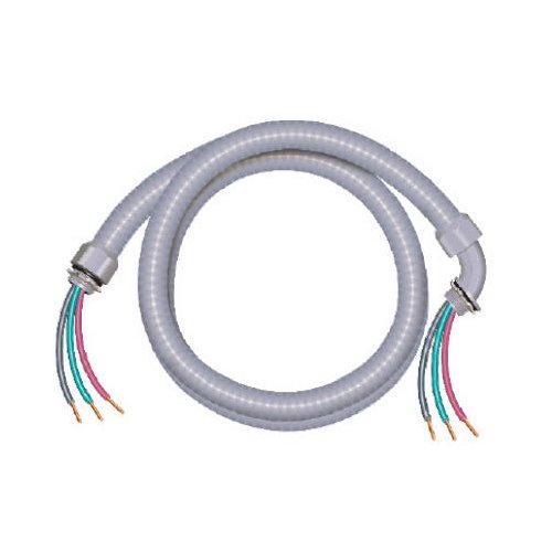 Marmon Home Improvement Prod 1535-0754003A06 8/2 and 10/1 Non-Metallic Liquidtie Electrical Whip, 6-Feet, 3/4-Inch