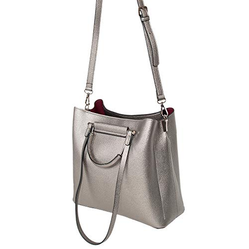 Lyra Parfois Silvered Parfois Lyra Women Women Parfois Shopper Silvered Shopper XwIvOqxZ