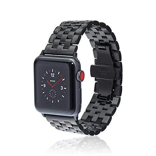 fitjewels Watch Band - LINK - 38/40mm 42/44mm Stainless Steel Metal Replacement Wristband compatible with Apple Watch Nike+, Series 4, Series 3, Series 2, Series 1 More Colors Available