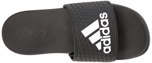 adidas Unisex-Kids Adilette Clf+ K Sandal,core black,White, core black,6 M US Big Kid by adidas (Image #8)