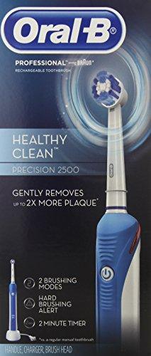 Oral-B Professional propre et sain Precision 2500 dents électrique rechargeable 1 comte