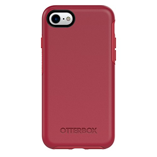 OtterBox SYMMETRY SERIES Case for iPhone 7 (ONLY) - Retail Packaging - ROSSO CORSA (FLAME RED/RACE RED)