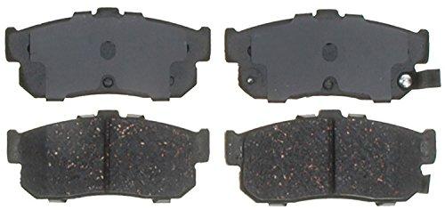 ACDelco 14D540CH Advantage Ceramic Rear Disc Brake Pad Set