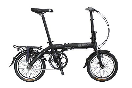 SOLOROCK 16″ Single Speed Aluminum Folding Bike – Swift Model