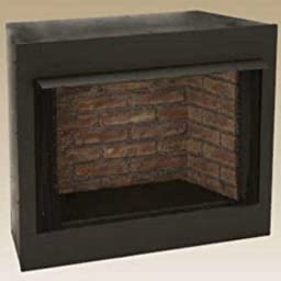 Monessen Gruf36c-f 36-inch Radiant Face Circulating Vent-free Firebox With Cottage Clay Firebrick
