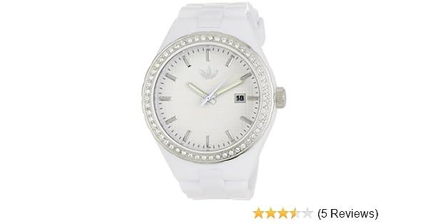 Amazon.com: Adidas Womens ADH2123 Cambridge 3-Hand Analog White Glitz Watch: Adidas: Watches