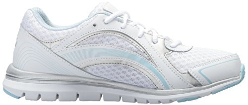 Ryka Womens Aries Walking Shoe weiß / blau