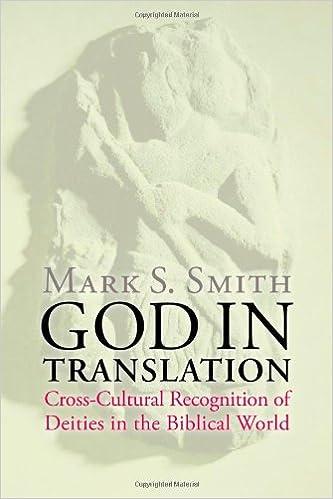 God in Translation: Deities in Cross-Cultural Discourse in