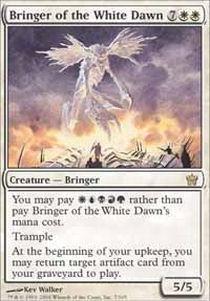 Fifth Dawn Game Card - Magic: the Gathering - Bringer of the White Dawn - Fifth Dawn