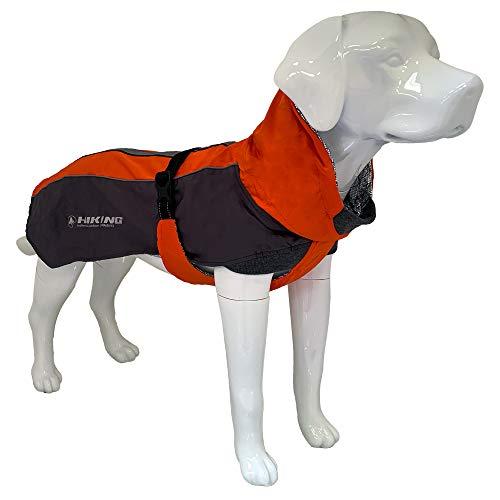 Croci Hiking Cappotto Per Cani, Impermeabile Per Cani, Fodera Termoregolante, Fuji, Taglia30 Cm - 182 g