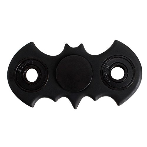 Inspirationc Small Portable Batman Hand Spinner Fidget Toy For Killing Time Relieves Stress Anxiety And Relax For Children Fast Bearing Edc Focus Toy Help Adhd Sufferers  Black