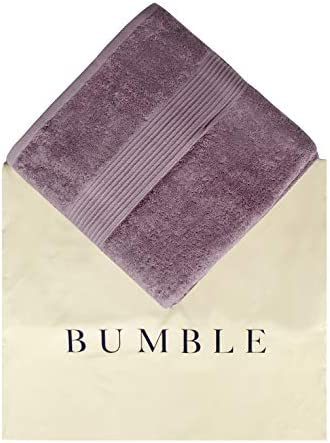 "Bliss Luxury Combed Cotton Bath Towels - 27"" x 54"" Standard Size Premium Quality Bath Sheet - 650 GSM - Soft, Absorbent (Wisteria, 27"" x 54"" 4 Pack)"