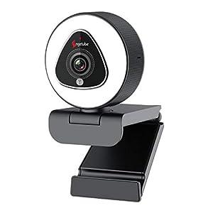 Flashandfocus.com 41BjDMCD9wL._SS300_ Streaming Webcam with Light - 1080P HD Web Camera with Microphone, Angetube Auto Focus Stream Cam, USB Camera with…
