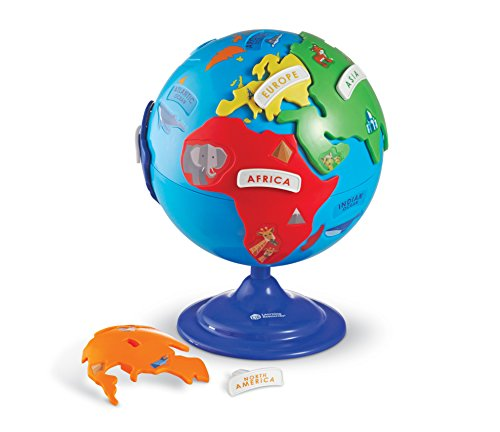 Learning Resources Puzzle Globe Toy]()