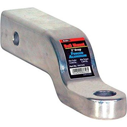 Buyers Ball Mount - Forged Aluminum, 2in. Drop, Model# 1803505 - Buyers Forged Ball Mount
