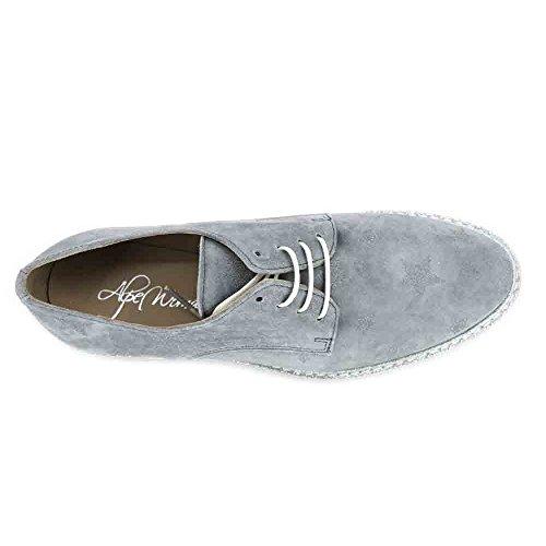 Mujer 40 Alpe Azul Zapatos 3620 Serraje para Casual qwXfzXI
