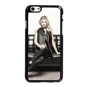 Funda iPhone 6 6S más la caja del teléfono celular de 5.5 pulgadas Funda Negro Emma Marrone A4I6RV