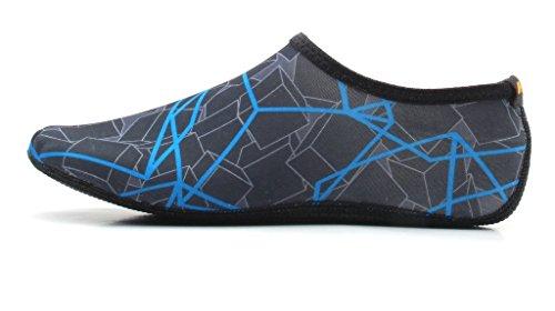 NBERA by 2econdskin Barefoot Water Skin Shoes Aqua Socks for Beach Swim Surf Yoga Exercise S **2016 NEW**