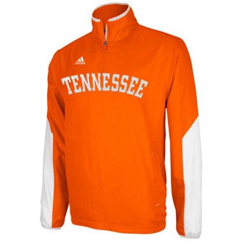 (adidas Tennessee Volunteers Sideline Hot Quarter Zip Jacket - Orange)