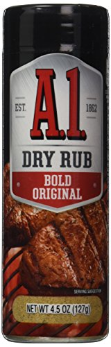 A 1 Bold Original Dry Rub, 4.5 Ounce