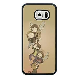 Samsung Galaxy S6 Case, Customized Supernatural Black Soft Rubber TPU Samsung Galaxy S6 Case, Supernatural Galaxy S6 Case(Not Fit for Galaxy S6 Edge)