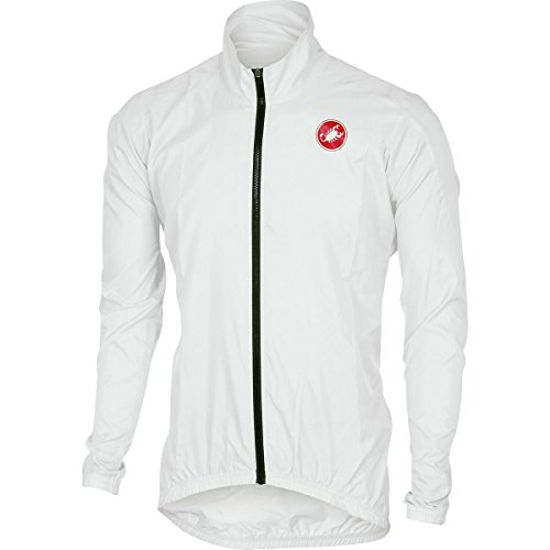 Cycling Jackets Technical Mens (Castelli Squadra ER Jacket - Men's White, XL)
