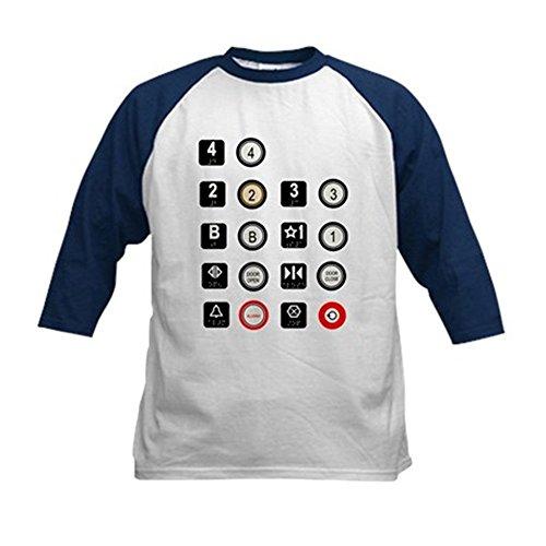 CafePress - Elevator Access Baseball Jersey - Kids Cotton Ba