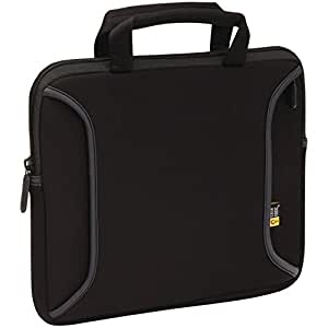 Case Logic LNEO-10 Ultraportable Neoprene Notebook/iPad Sleeve Fits 9 to 10.2-Inch Tablets, Black