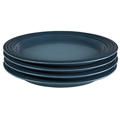 Le Creuset of America PG9200S4-276M Dinner Plates (Set of 4), 10.5
