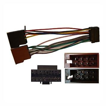 sony 16 pin iso wiring harness connector adaptor amazon co uk sony 16 pin iso wiring harness connector adaptor