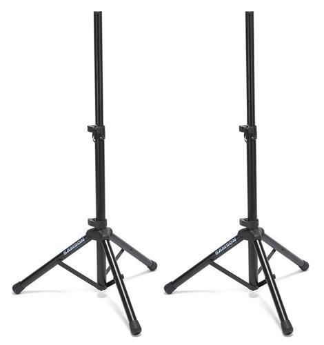 Samson SP50P Speaker Stands with Case (Pair) by Samson Technologies