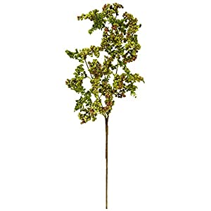 "Nearly Natural 2217-S6 25"" Berry Spray Flower (Set of 6) Artificial Plant, Green 56"