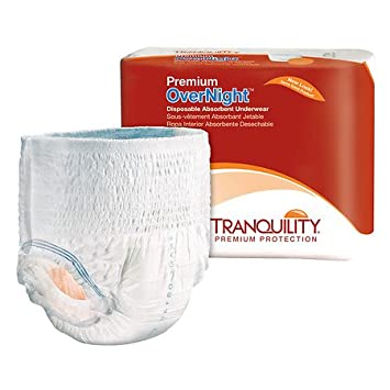 Tranquility Premium OverNight Disposable Underwear Extra Large - 2PC