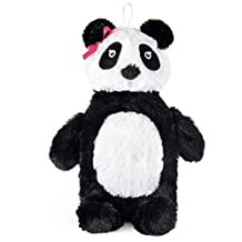 750ml Hot Water Bottle with Plush 3D Animal Cover (Panda)