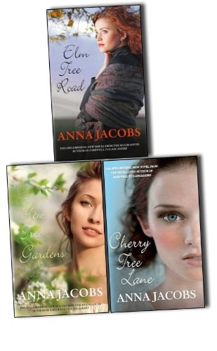 Anna Jacobs Wiltshire Girls 3 Books Collection Pack Set RRP: £23.97 (Cherry Tree Lane, Yew Tree Gardens, Elm Tree Road) ()