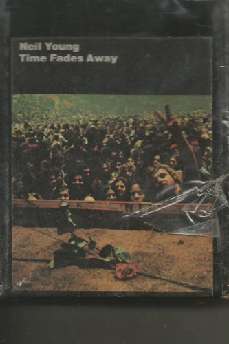 Still Sealed 8 Track Tape Neil Young Time Fades Away