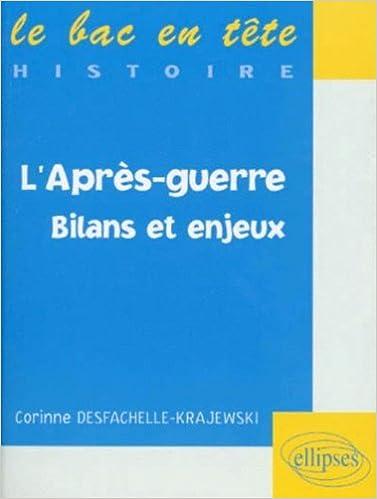 Livres L'après-guerre : Bilans et enjeux pdf