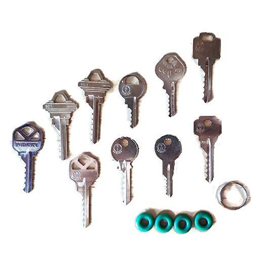 MSPowerstrange Professional 10 Key Depth Key Set with Bump Rings