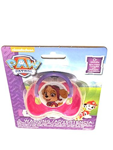 Paw Patrol Skye Pacifier with Cover (Paws Pacifier)