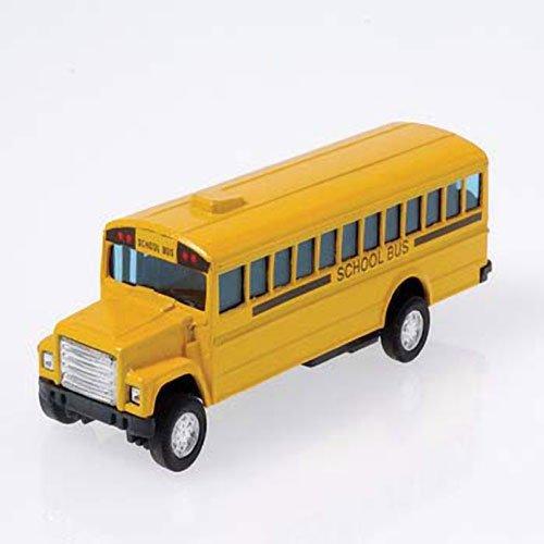 US Toy Die Cast Metal Toy School Bus, -