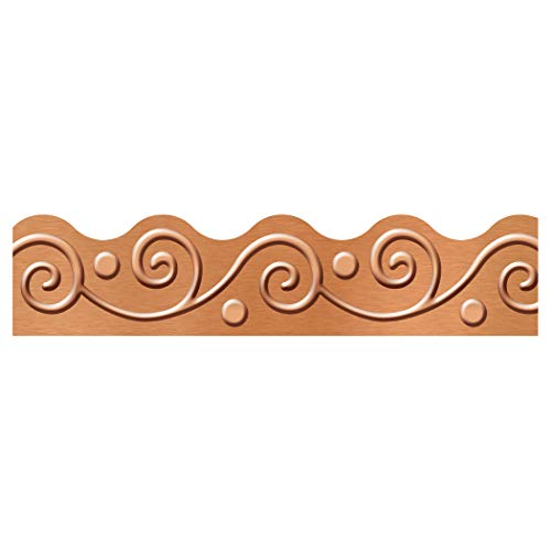 Terrific Trimmers - TREND enterprises, Inc. I ♥ Metal Copper Scrolls Terrific Trimmers, 39', 39 feet