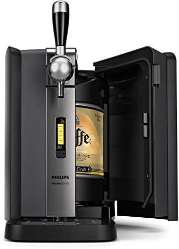 Philips PerfectDraft Keg Machine, HD3720/25 Home Tap, Beer Dispenser, Steel