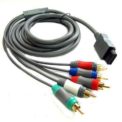 Nintendo Wii Component HDTV AV High Definition AV Cable (Bulk Packaging)
